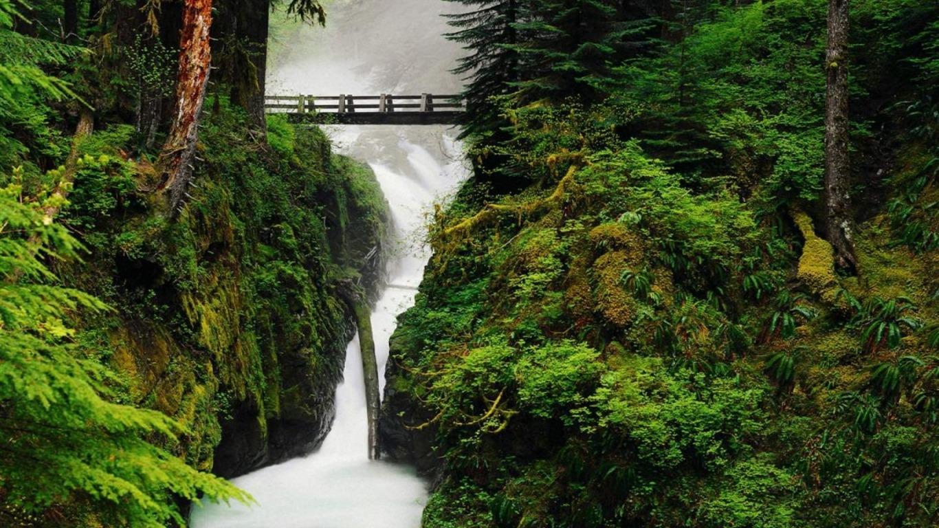9 Spectacular Hd Waterfall Wallpapers To Download: Spectacular Waterfalls Widescreen Desktop Wallpaper 10