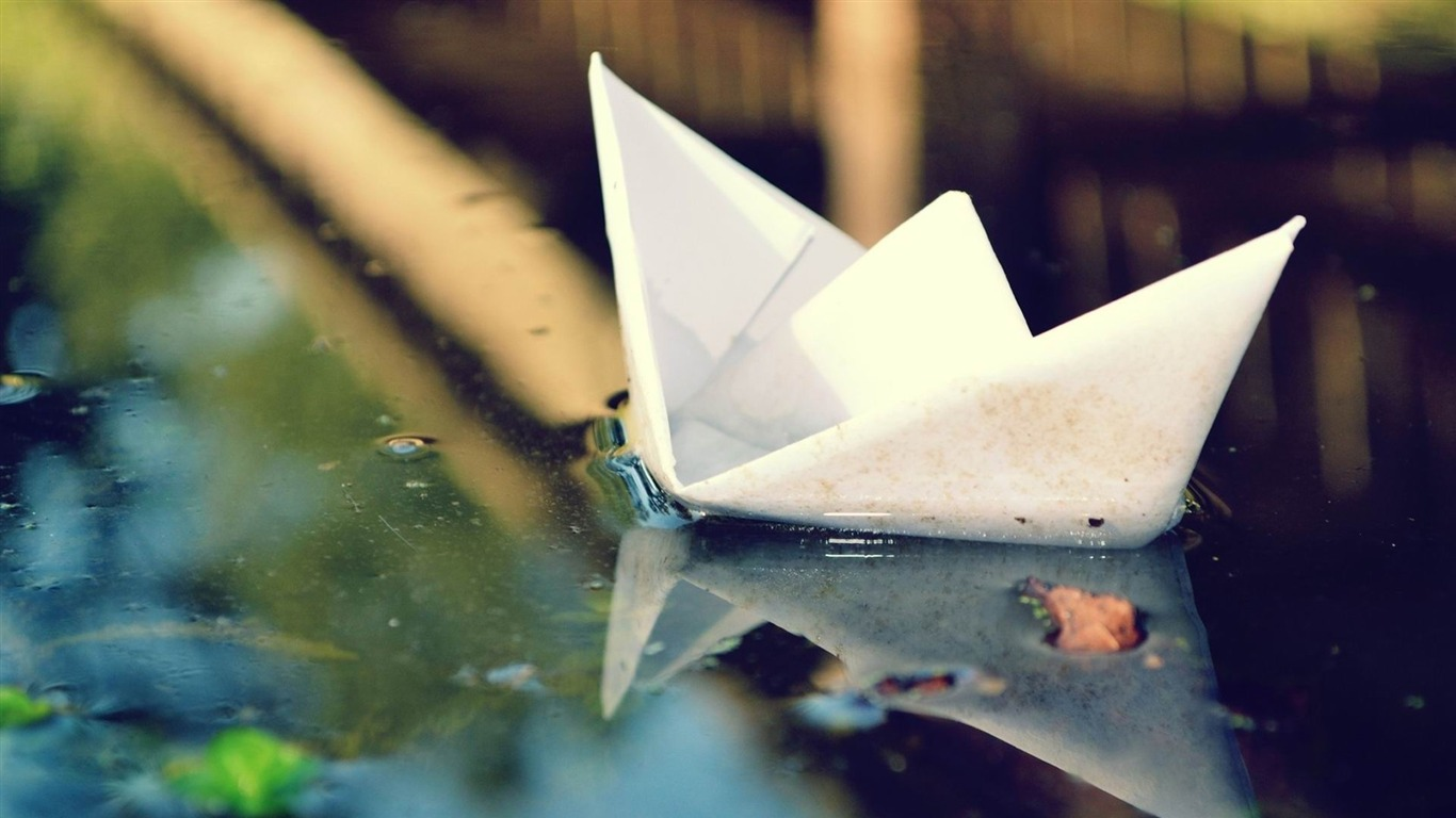 Bateau De Papier Origami Cascade Fonds D Ecran Hd De Haute Qualite Apercu 10wallpaper Com