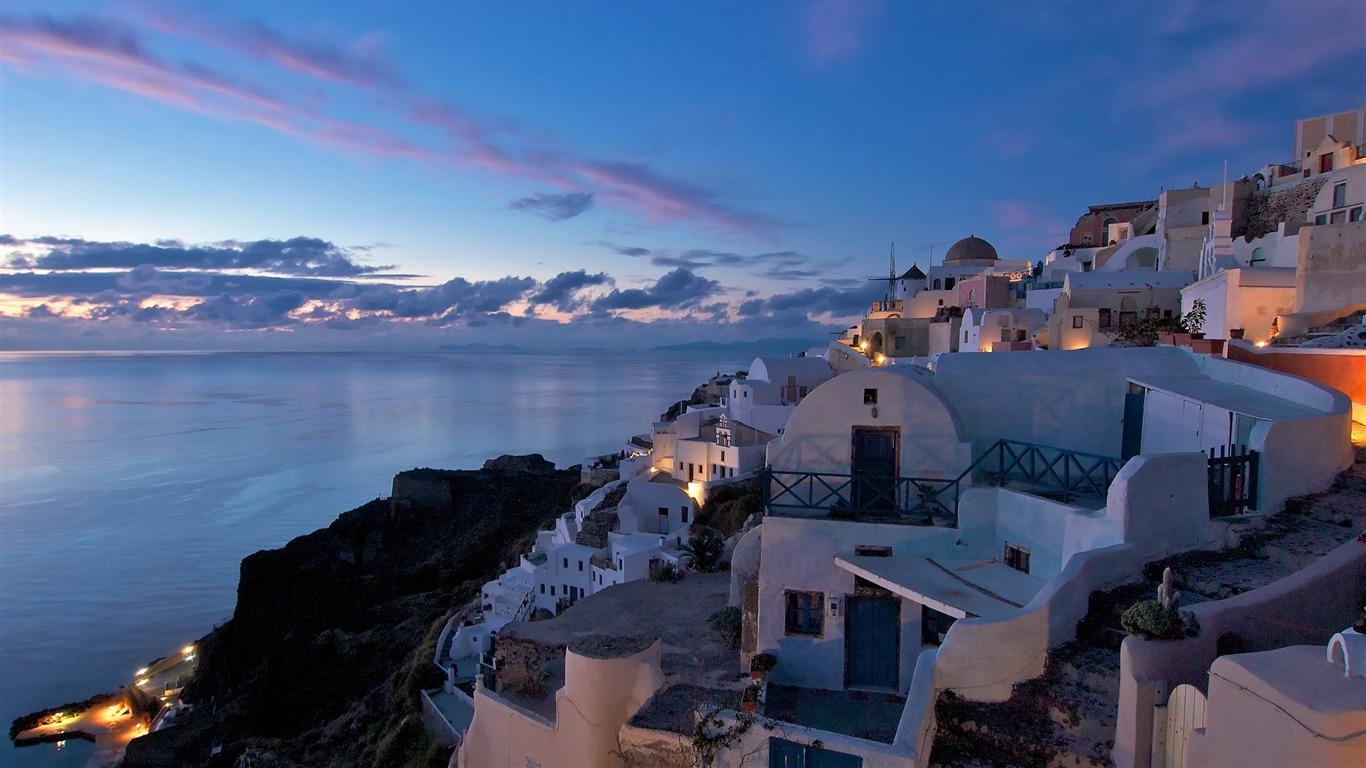 Santorini Oia Greece Travel Photography Wallpaper Preview