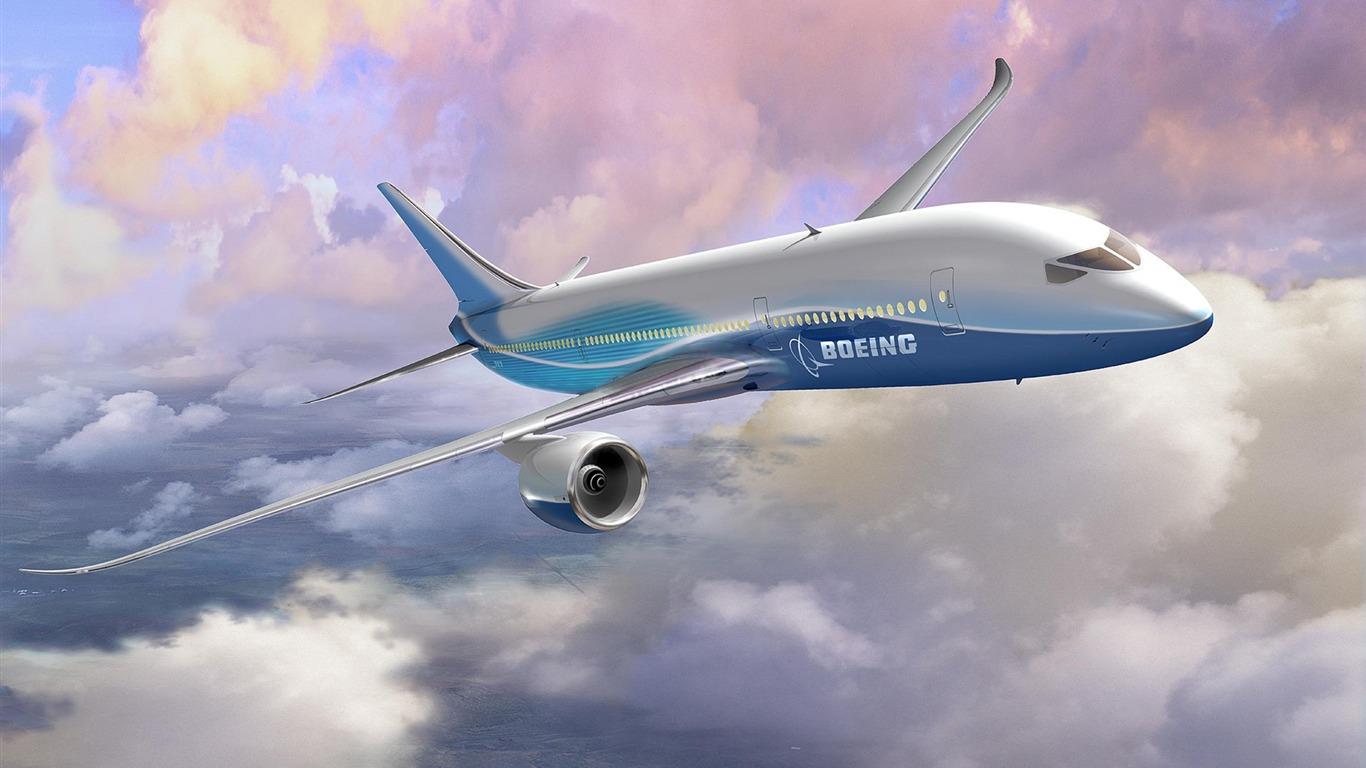 Boeing 787 Dreamliner Hd Wallpaper 09 Avance 10wallpapercom