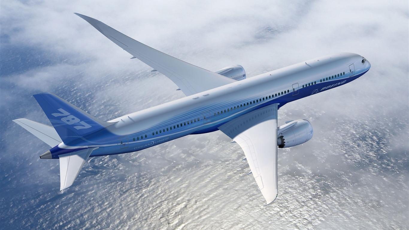 Boeing 787 Dreamliner Hd Wallpaper 13 Avance 10wallpapercom
