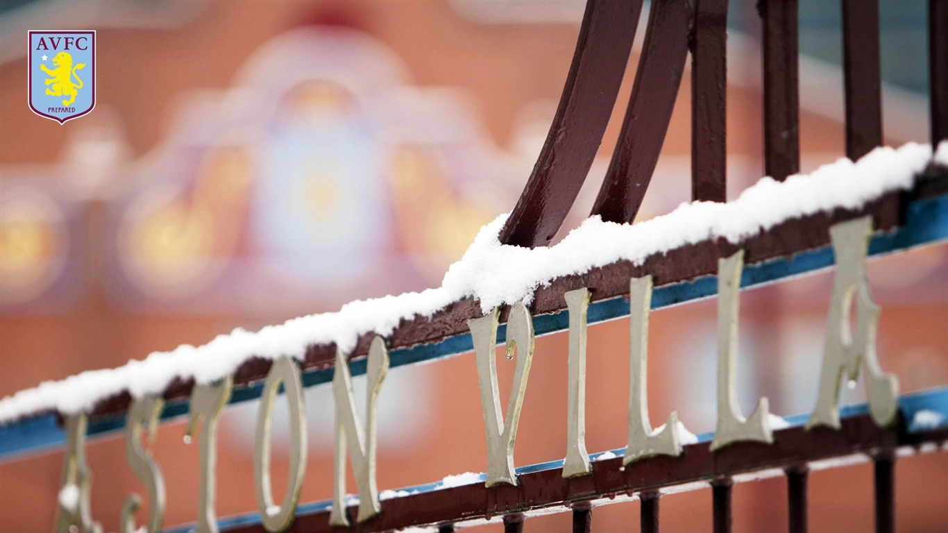 Villa Park In The Snow-Aston Villa 2013 HD Wallpaper