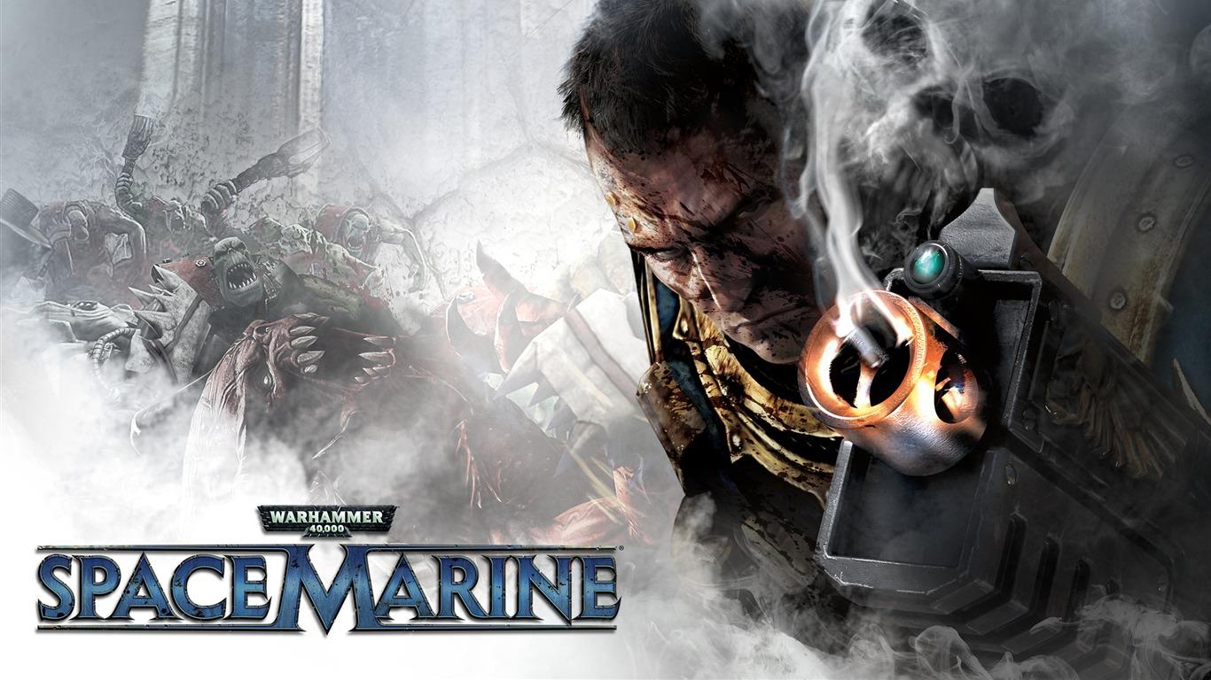 Warhammer Space Marine 2013 Game Hd Wallpaper Avance