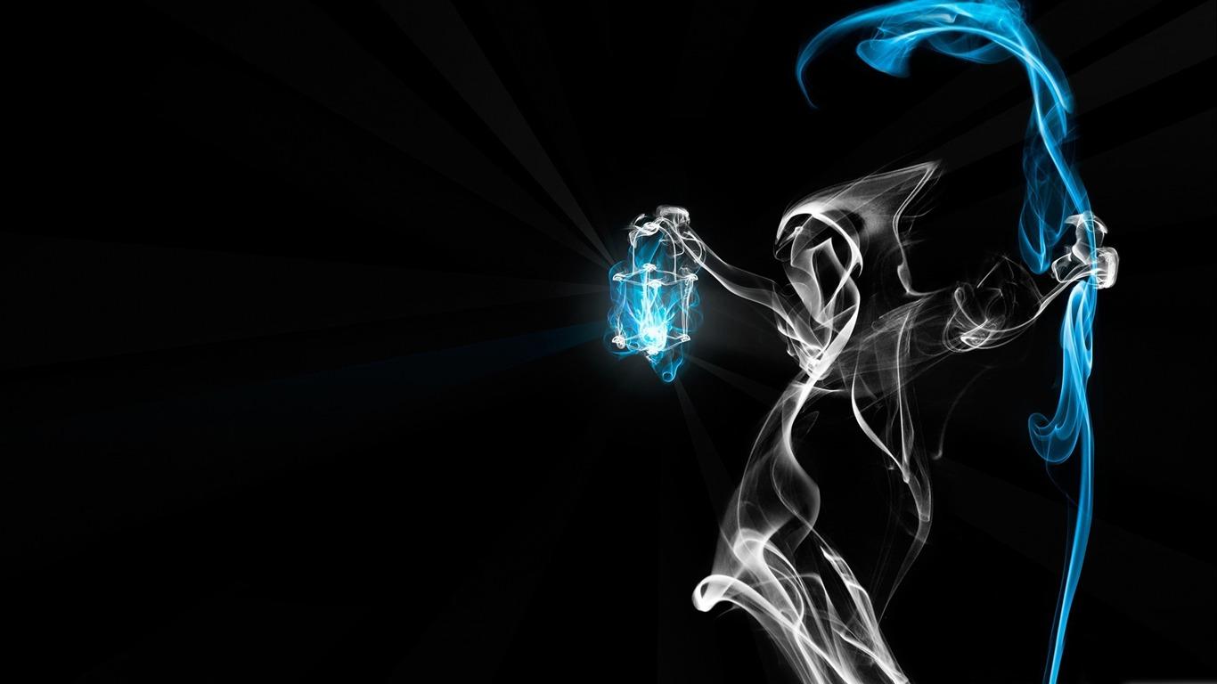 死の煙 黒の芸術hdの壁紙プレビュー 10wallpaper Com