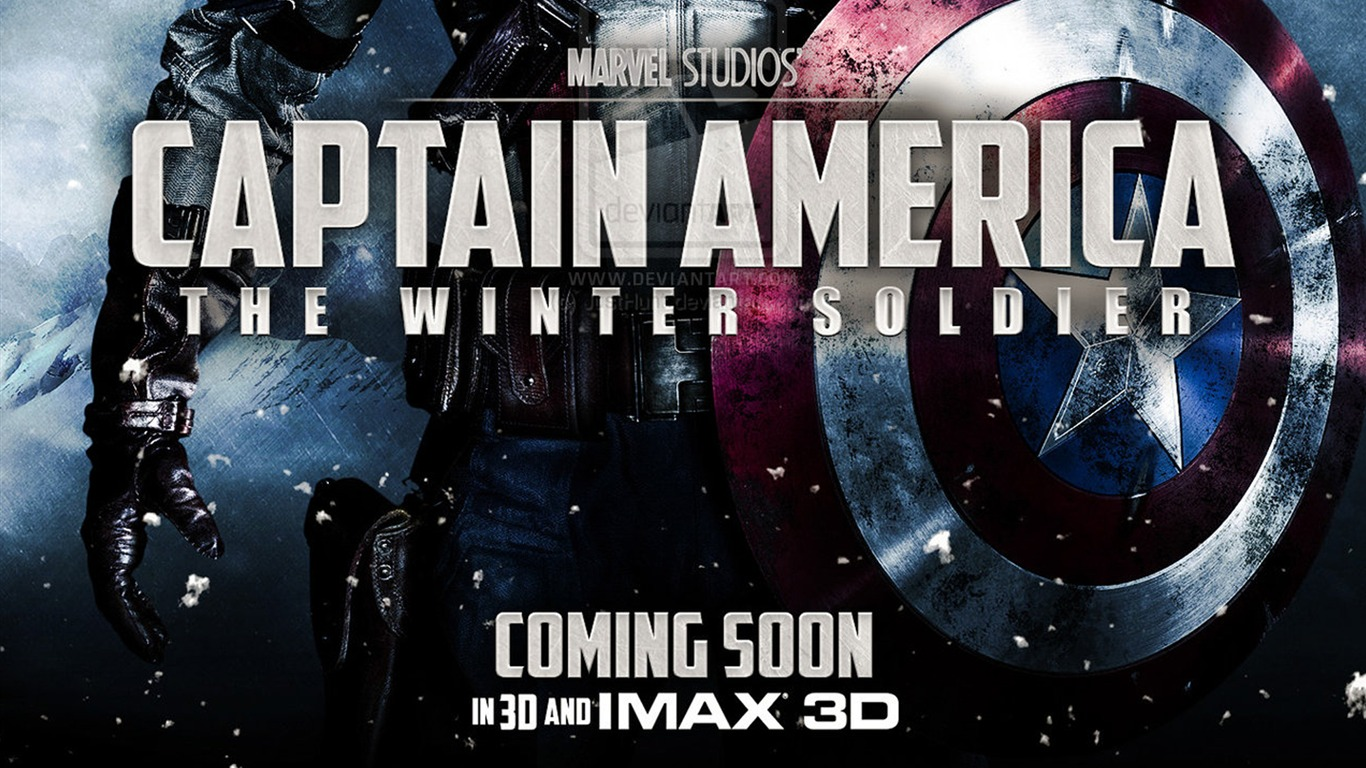Captain America: The Winter Soldier Film HD fonds d'écran