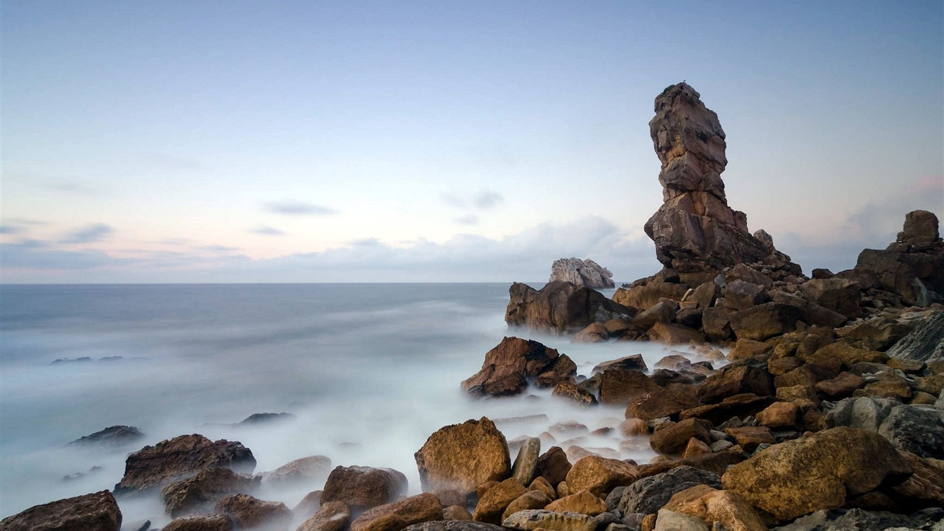 Rocky_beach-Summer_landscape_HD_wallpaper2013.7.26