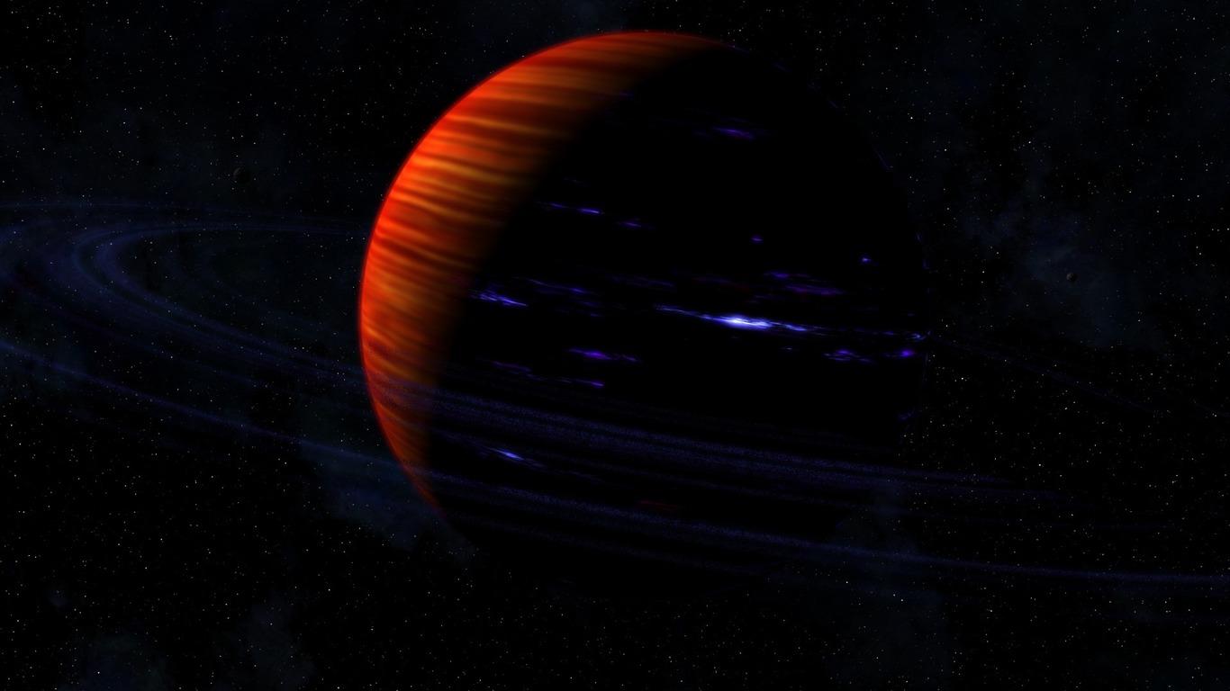 土星の環の惑星 宇宙の探索hdの壁紙プレビュー 10wallpaper Com