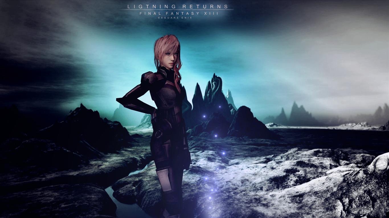 Lightningのreturns Final Fantasy Xiiiゲームhdの壁紙プレビュー