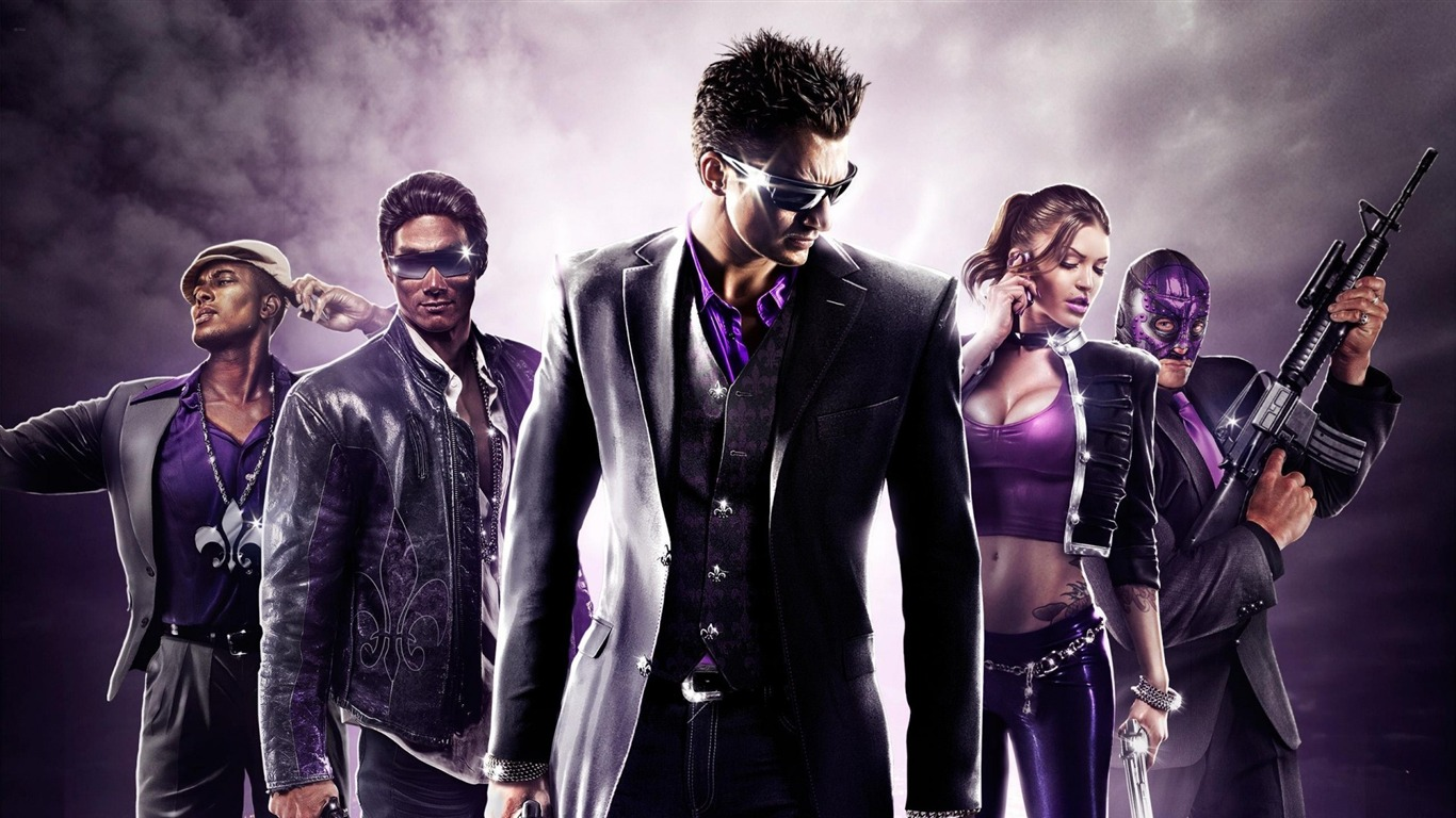 Saints Row 4 Pc Game Hd Wallpaper 01 Avance 10wallpapercom