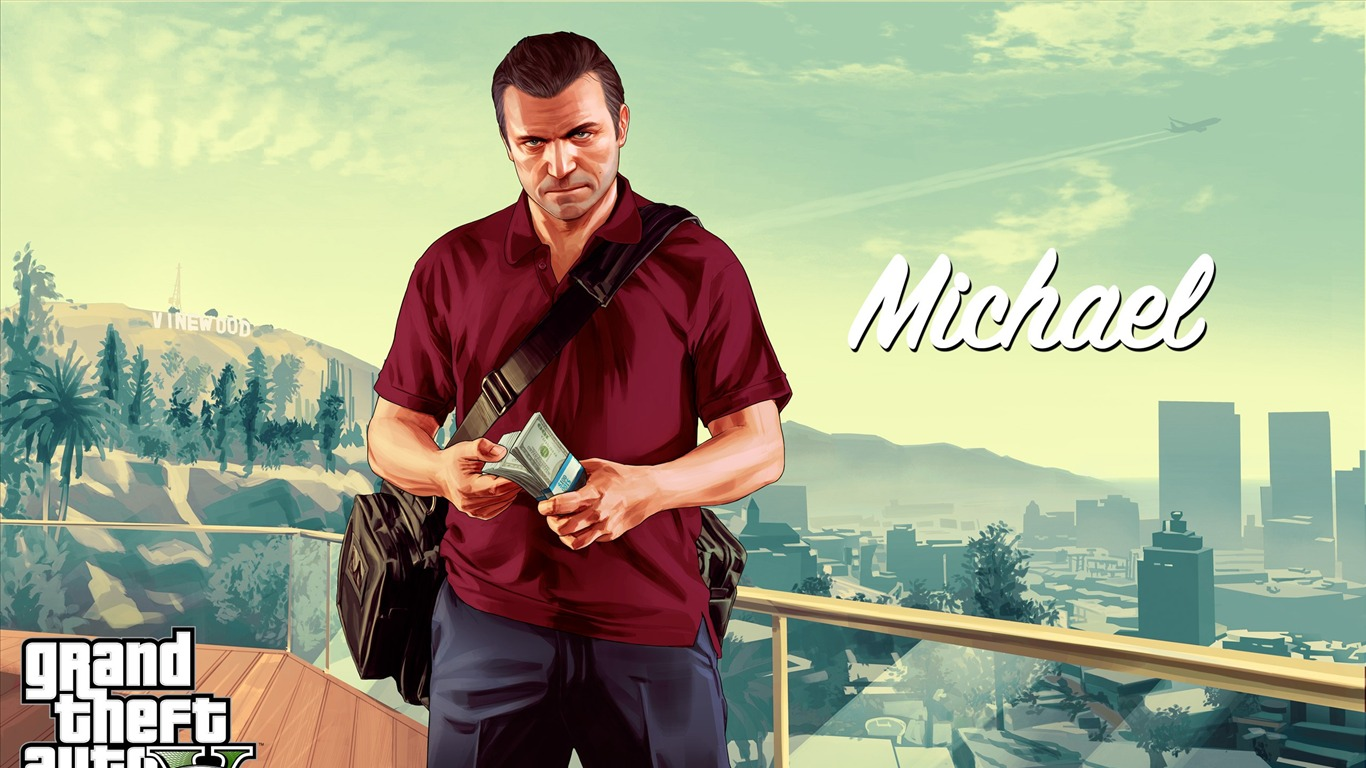 Michael Grand Theft Auto V Gta 5 Juego Hd Wallpapers Avance