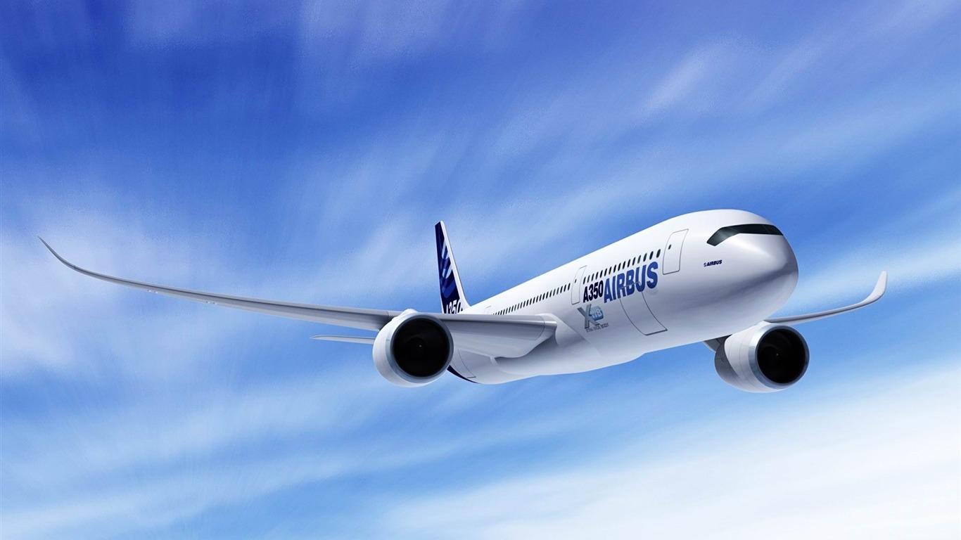 Airbus A350 Aircraft Hd Wallpaper Avance 10wallpapercom