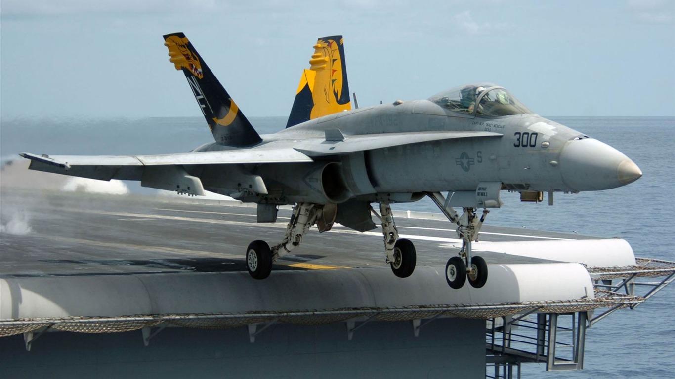 F18 Super Hornet Fighter Aircraft Fondo De Pantalla Hd