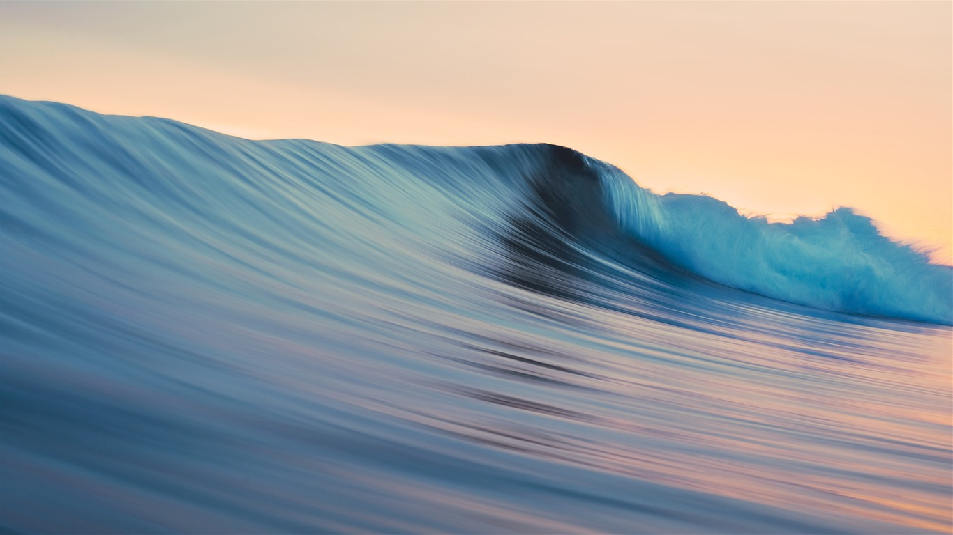 Rolling Waves Mac Os X Mavericks Desktop Wallpapers Hd