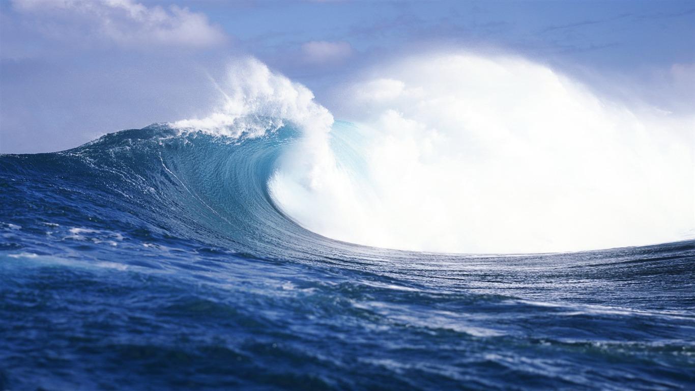 Waves Mac Os X Mavericks Hd Fondos De Escritorio Avance