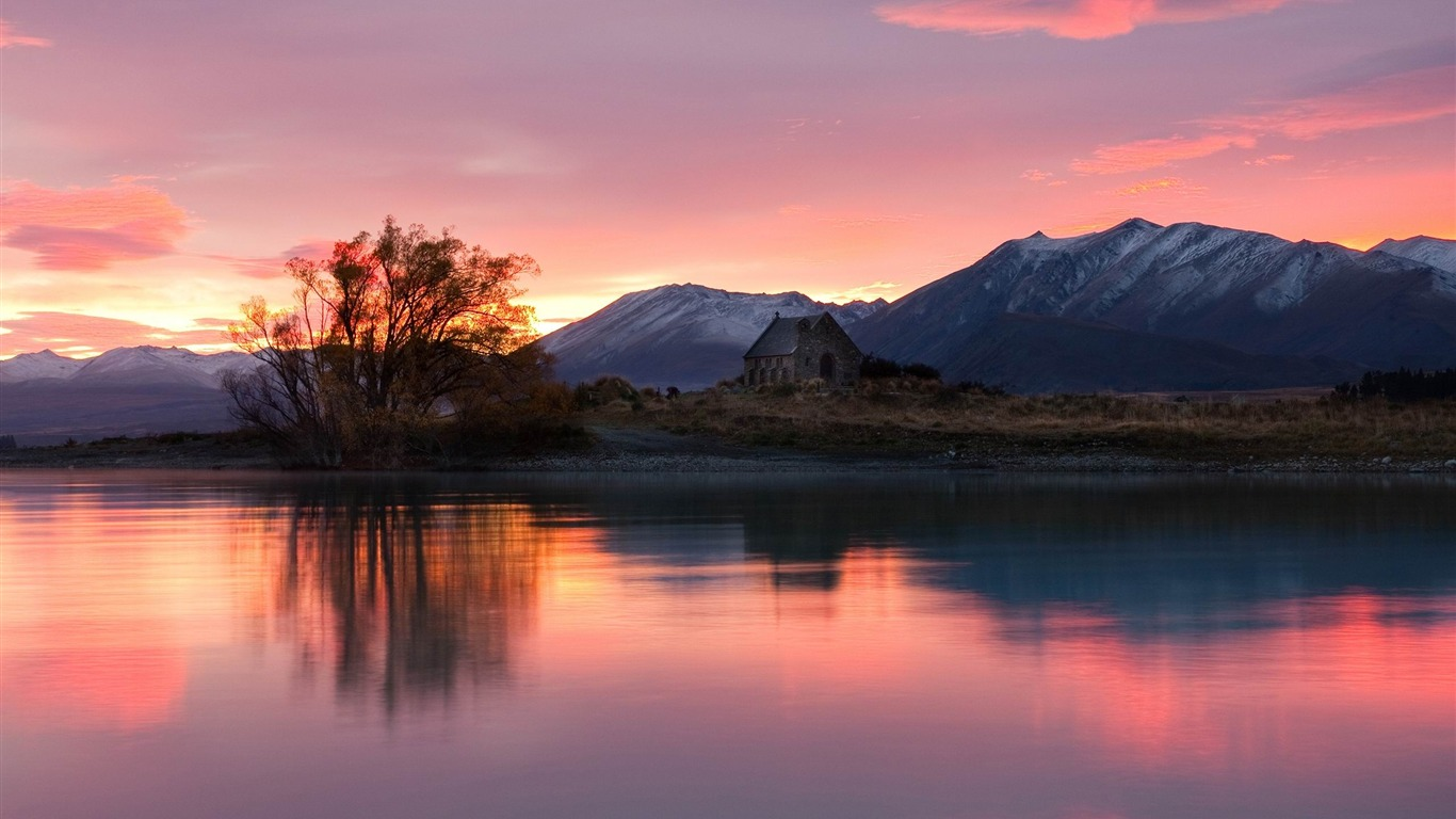 川湖夜明け美しく 風景のhd壁紙プレビュー 10wallpaper Com