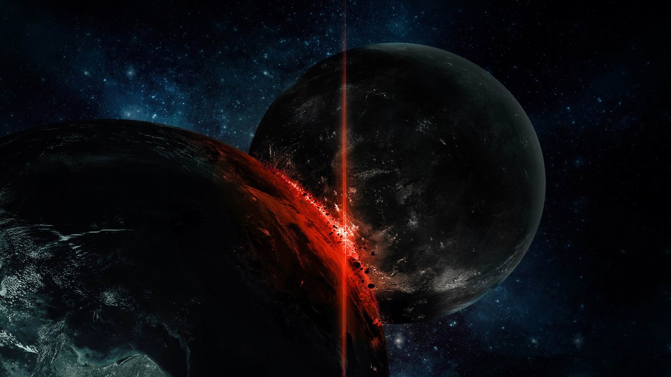 planetary_collision-scenery_HD_wallpaper