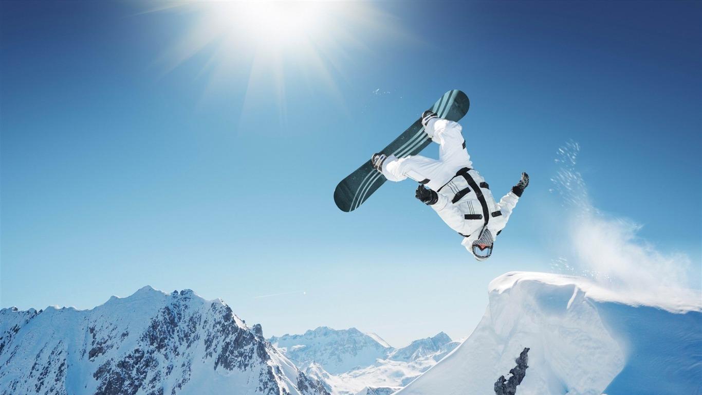 Dream Hd Extreme Sports: Ski Sports Extrêmes HD Fonds D'écran Aperçu