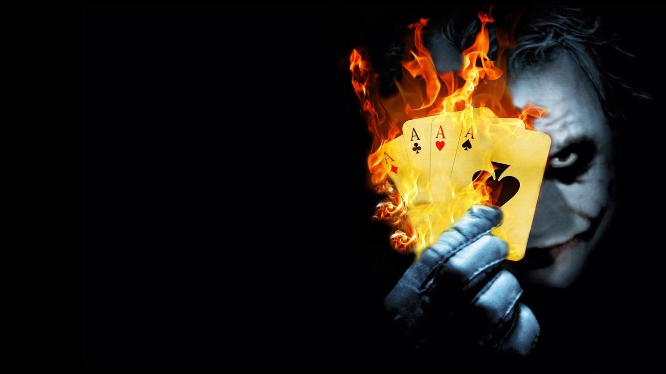 燃えるポーカージョーカー 映画のhdの壁紙プレビュー 10wallpaper Com