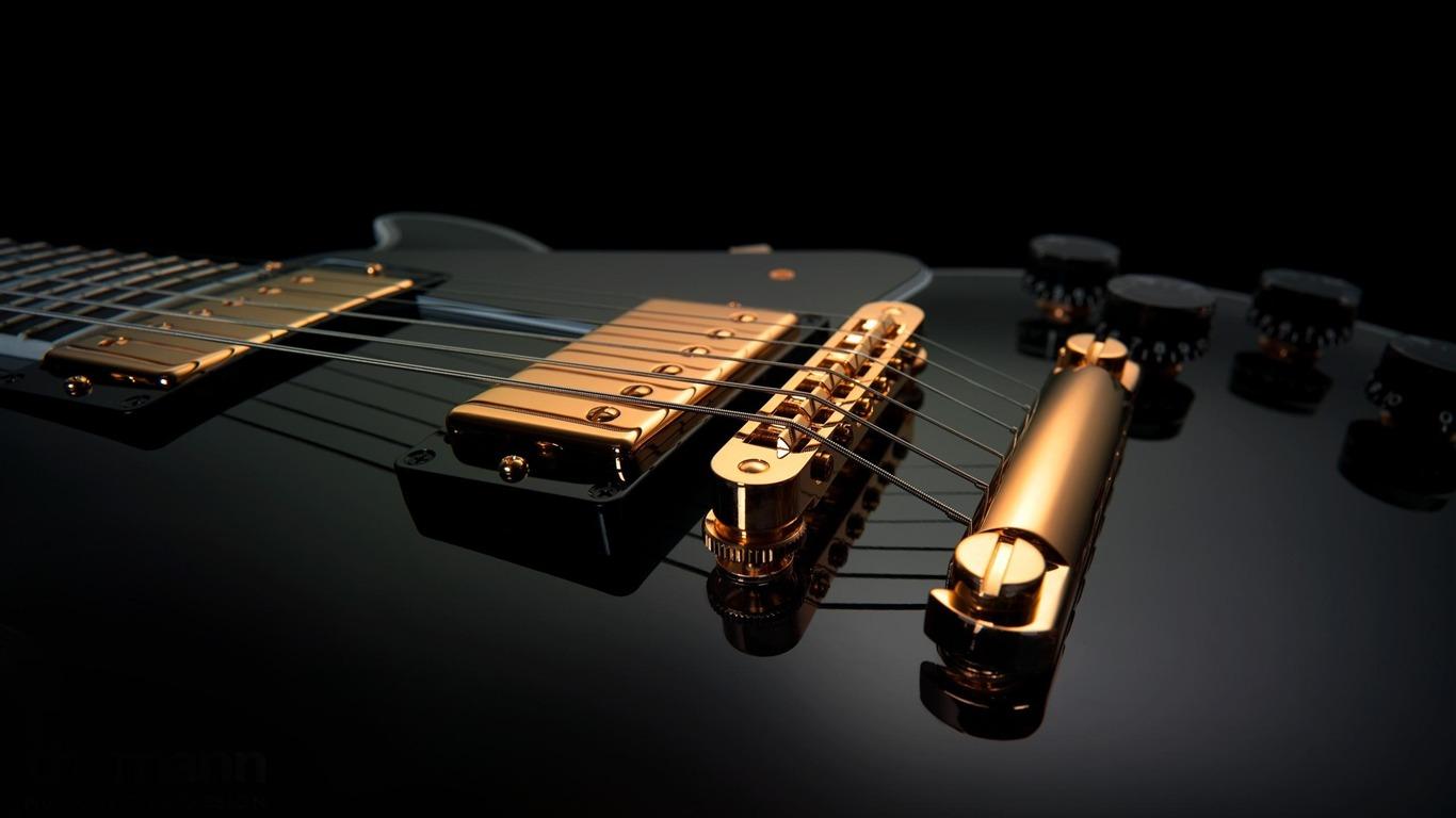 エレキギターの楽器文字列 ワイドスクリーンの壁紙プレビュー