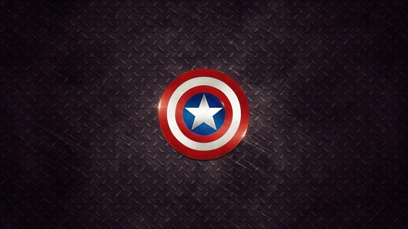 キャプテン アメリカのシールドメタル 高品質の壁紙プレビュー