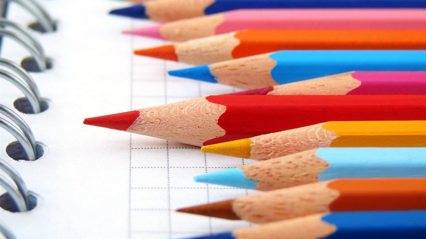 pencils_colored_notebook-Macro_HD_Wallpaper2014.2.2