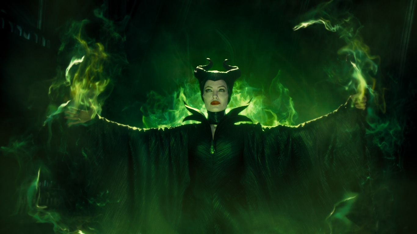 Maleficent Movie 2014 Hd Ipad Iphone Wallpapers: Maleficent 2014映画のHD壁紙プレビュー