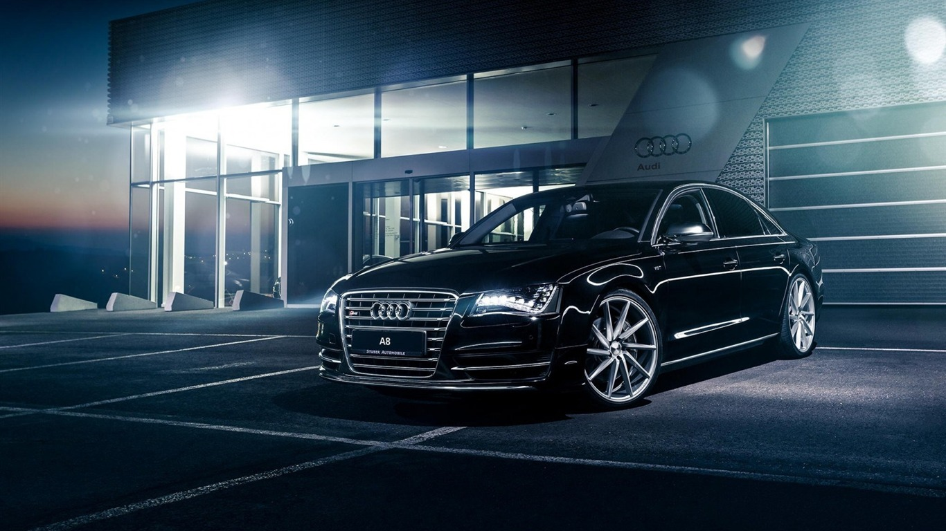 Audi A8 Black Cars Fondo De Pantalla Hd Avance 10wallpapercom