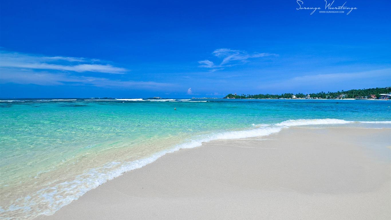 沙滩海浪 斯里兰卡win8主题壁纸预览 10wallpaper Com