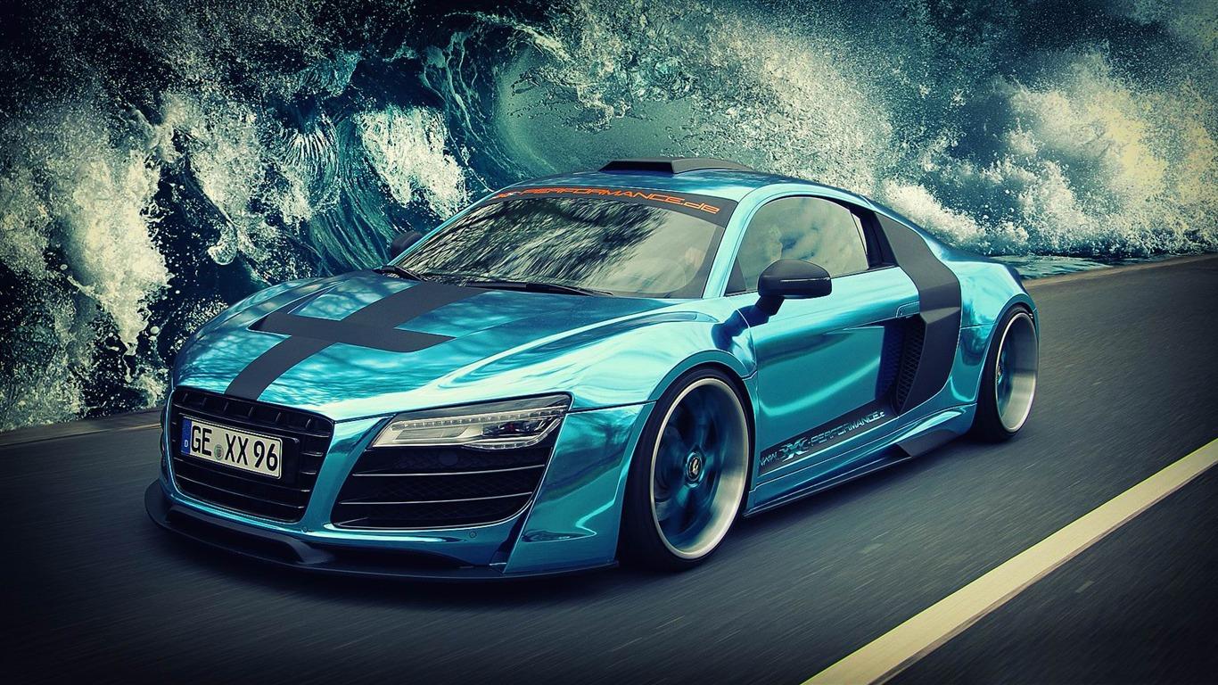 Audi 666 Cars Fondo De Pantalla Hd Avance 10wallpapercom