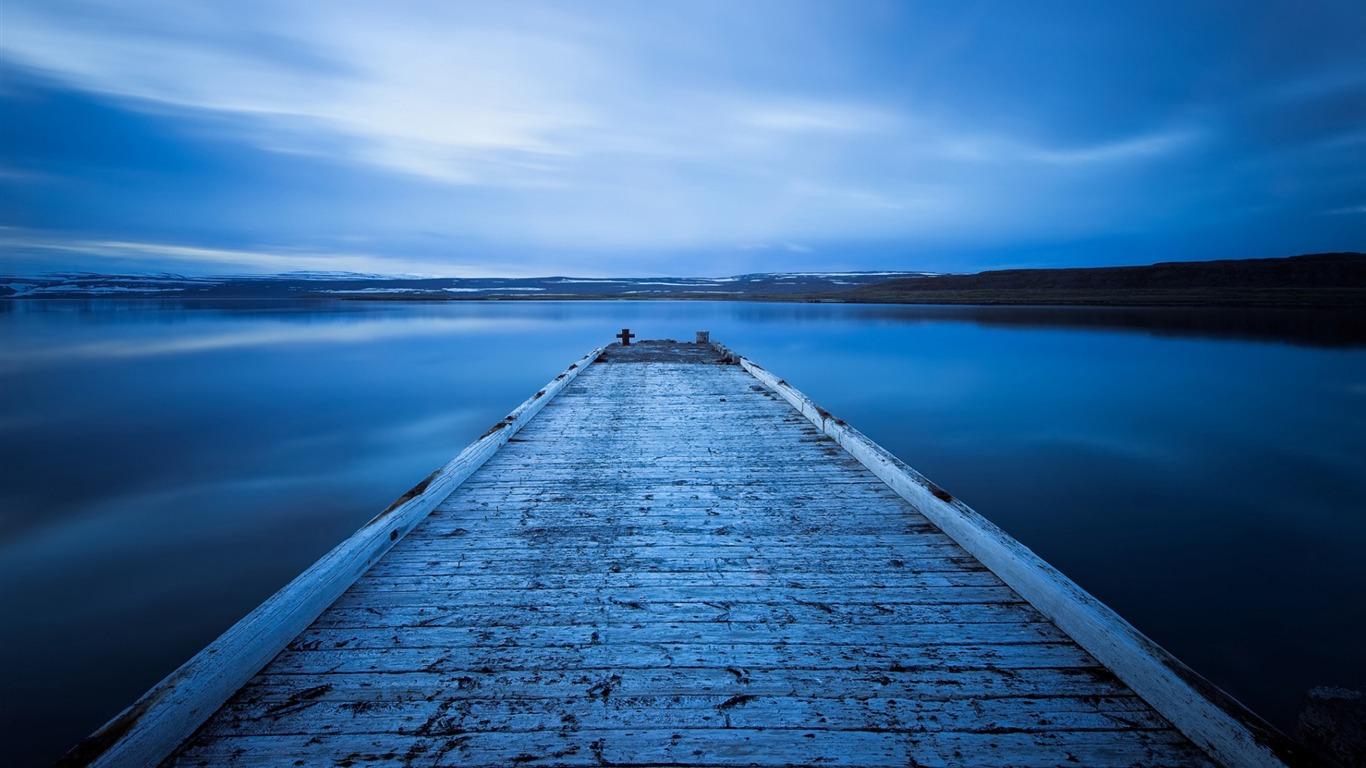 Islande Lac Bleu Nature Hd Fond D Ecran Apercu 10wallpaper Com