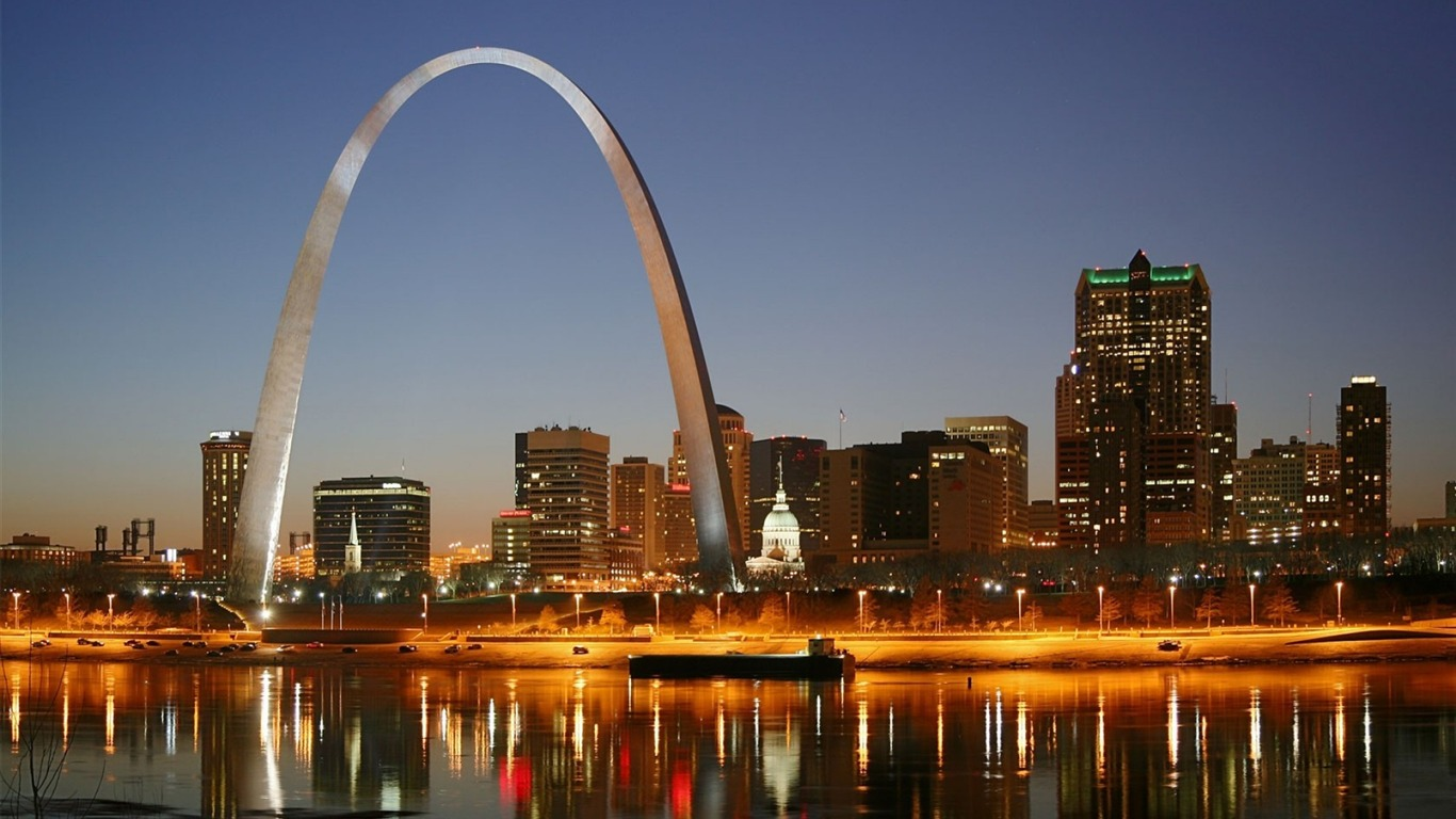 The Gateway Arch Cities Hd Wallpapers Avance 10wallpapercom