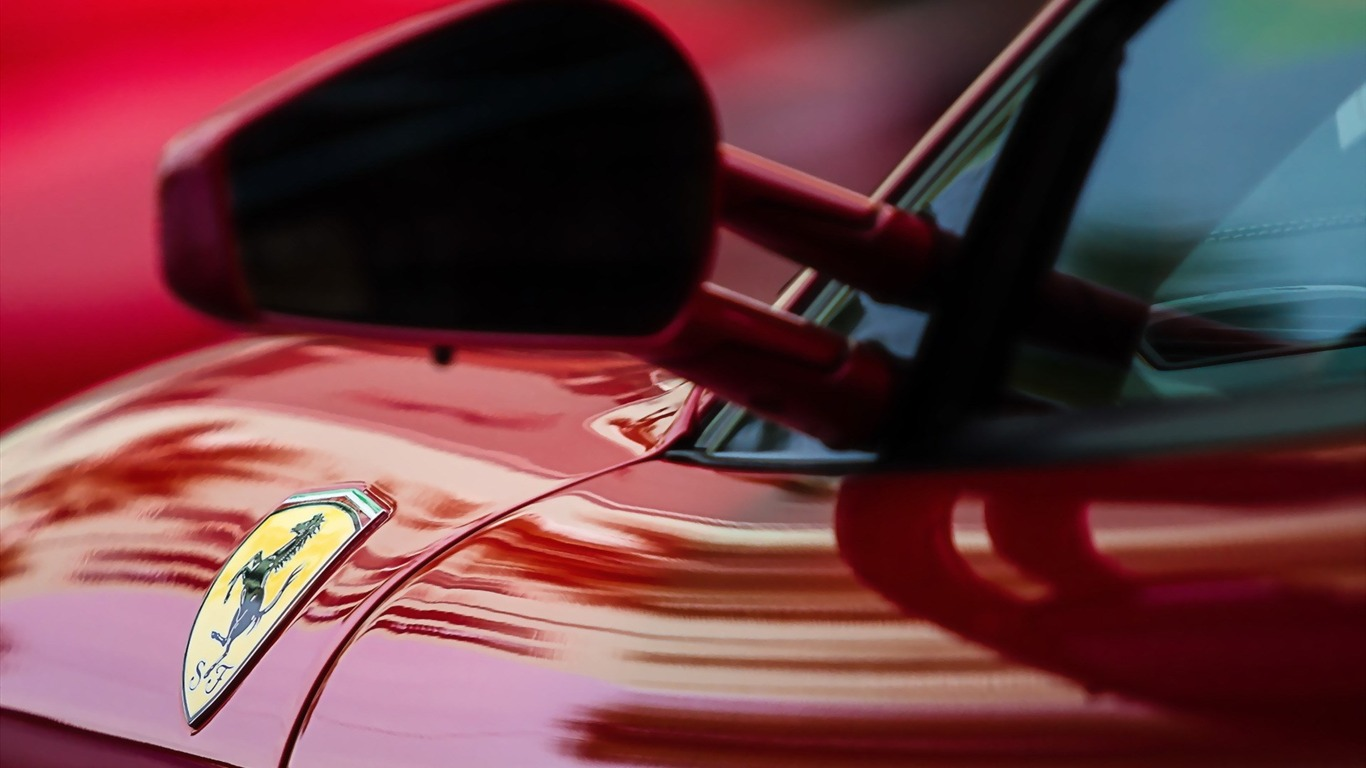 ferrari_car_mirror-car_HD_Wallpaper