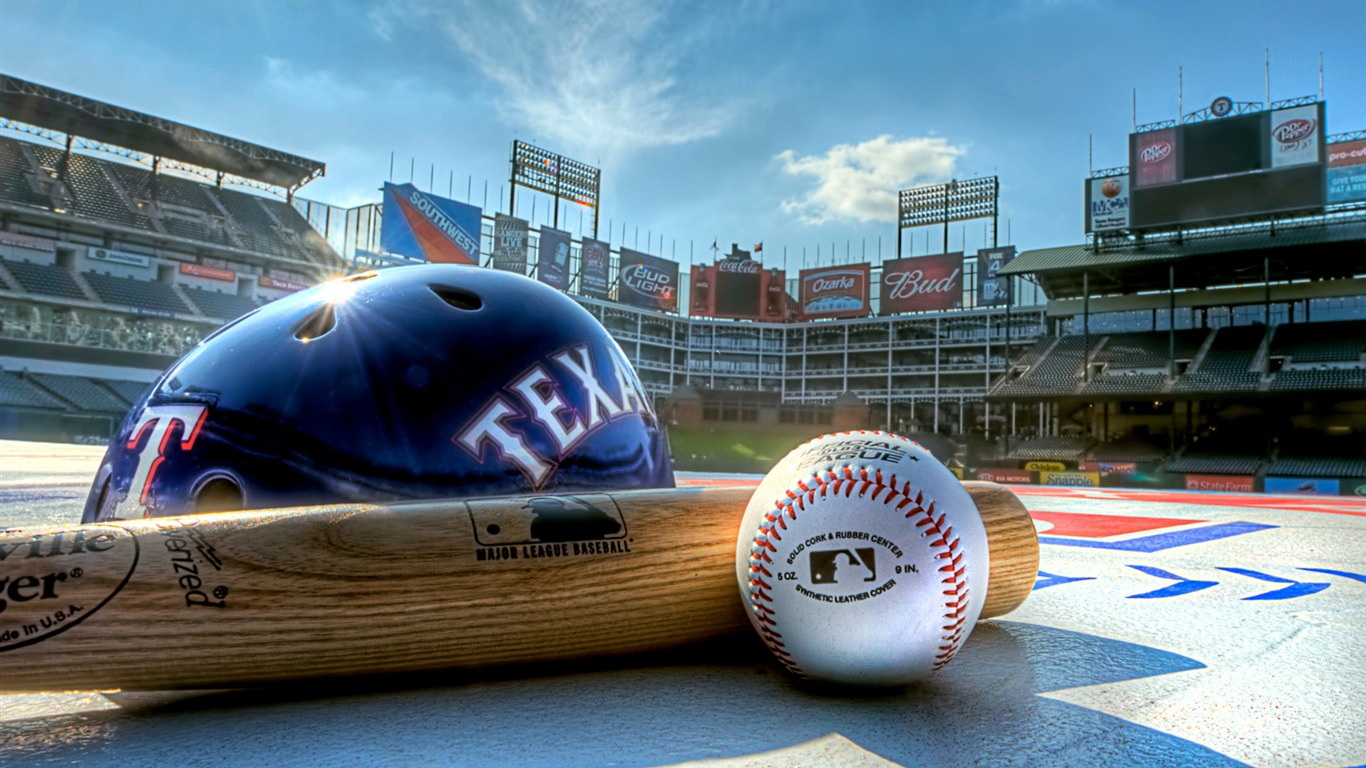 Baseball Ball And Stick Sports Hd Wallpaper Preview 10wallpaper Com