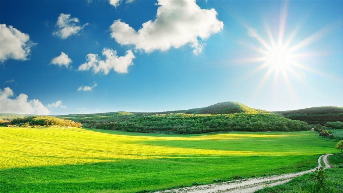 Sunny Day Desktop Wallpaper Avance 10wallpapercom