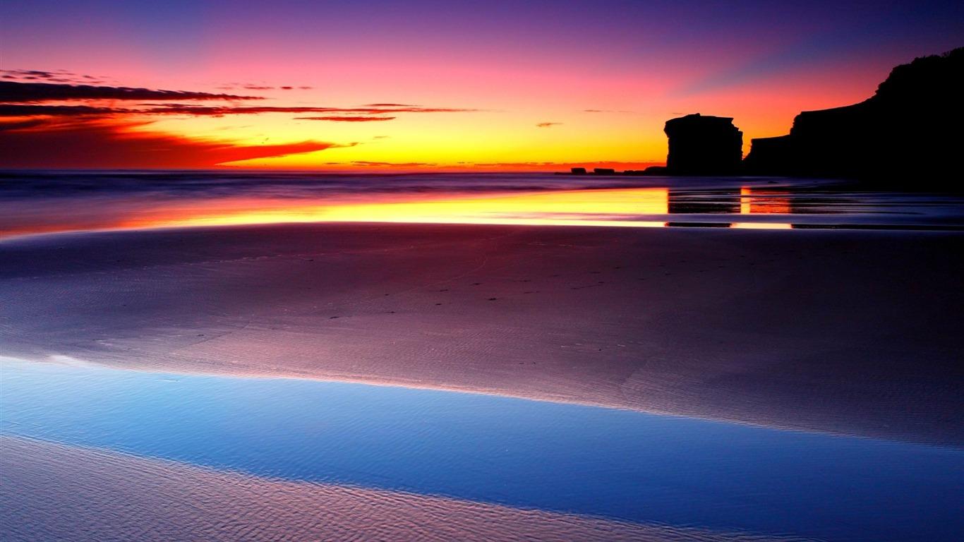 Beach Sunset Photo Hd Fondos De Escritorio Avance