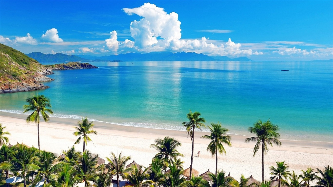 Hermosa playa y paisajes de mar hd wallpapers avance - Playa wallpaper ...