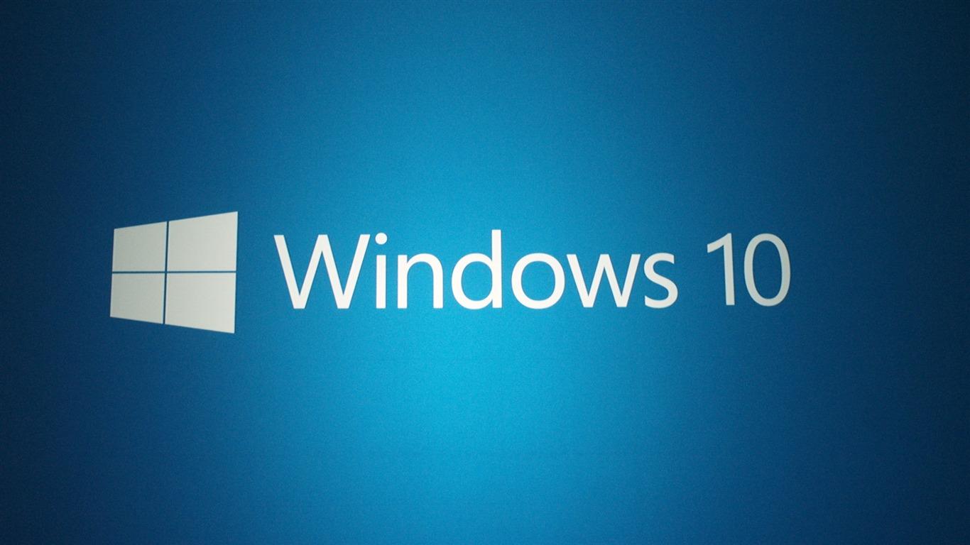 Microsoft Windows 10 OS Fonds D'écran-1366x768