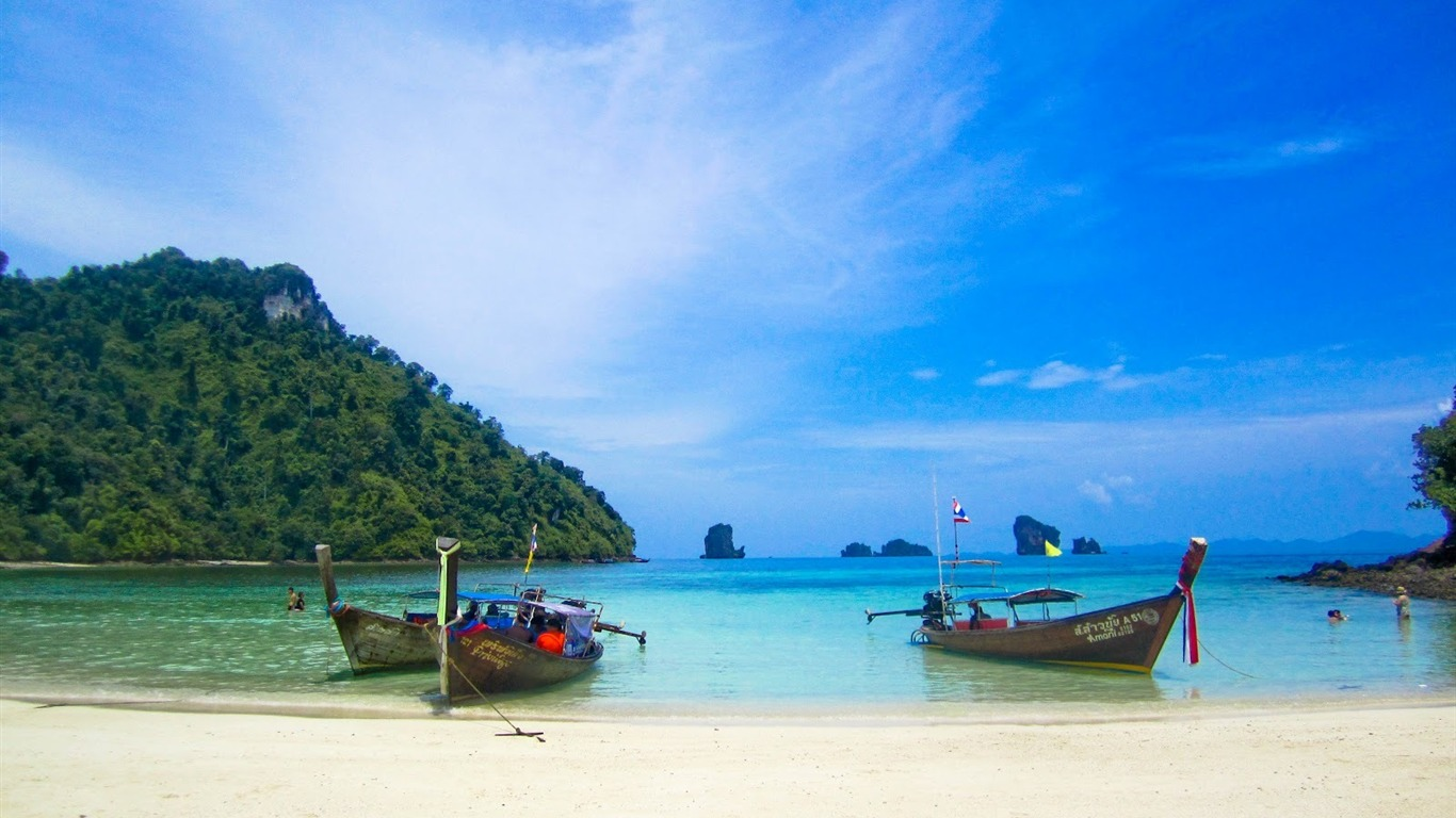 Landscape / Thailand Beach-HD Desktop Wallpaper
