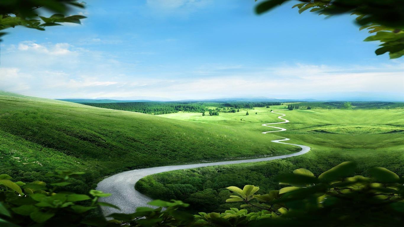 Path Landscape Scenery Hd Wallpapers Avance 10wallpapercom