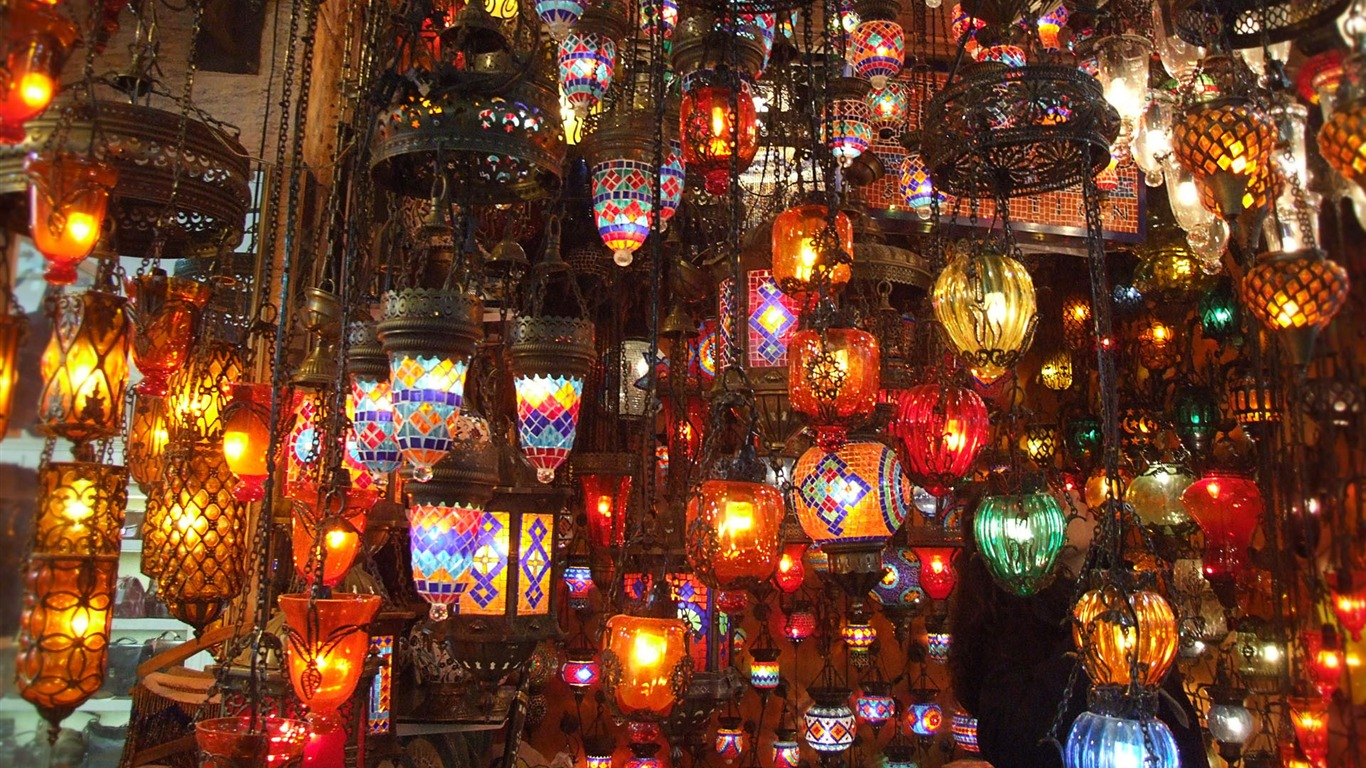 Istanbul Lamps Windows 10 Hd Wallpaper Preview 10wallpaper Com