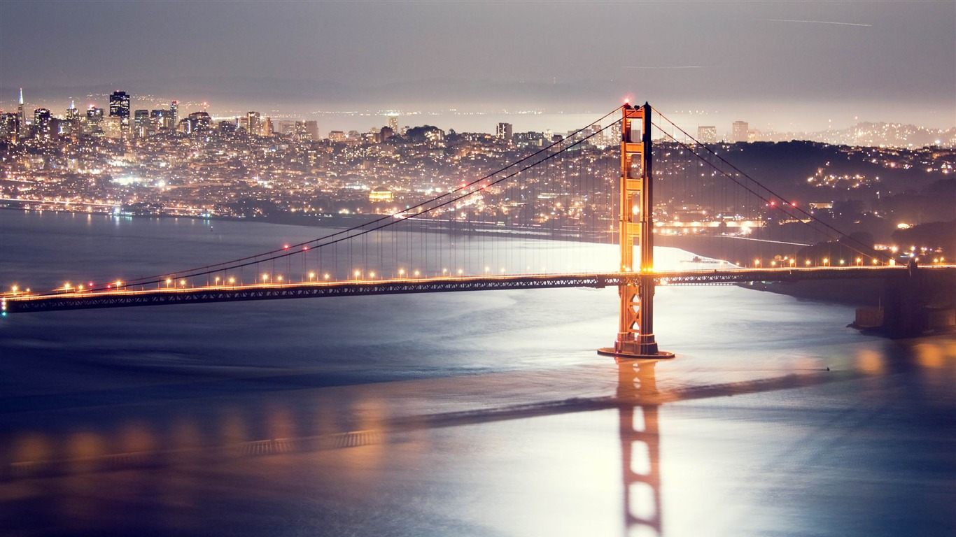 San Francisco At Night Photography Hd Wallpapers Avance