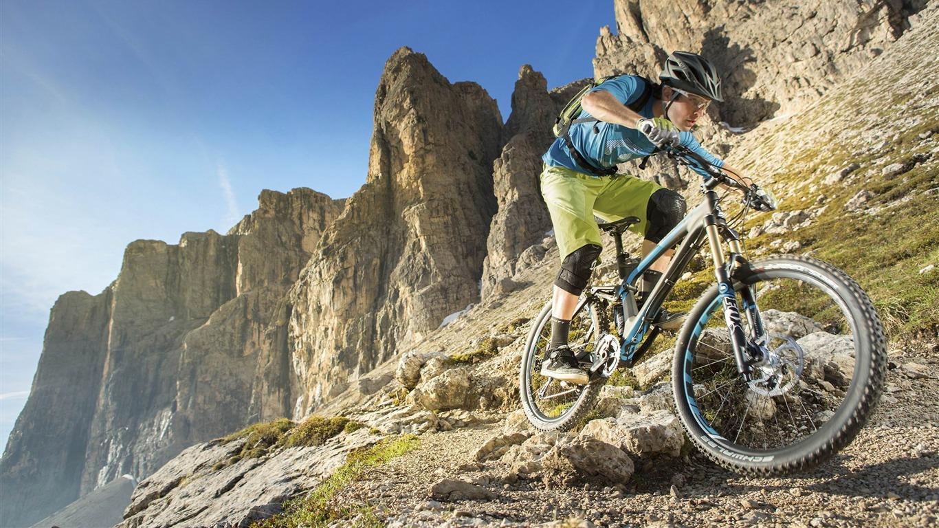 Extreme Mountain Biking Wallpaper: Extreme Mountain Biking Sports HD Wallpaper 08 Preview