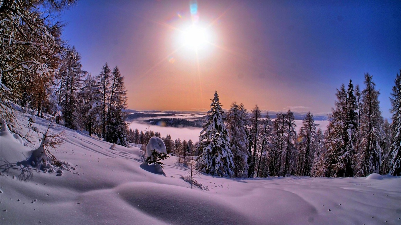 Most Beautiful Winter Landscape HD Wallpaper 15 Preview