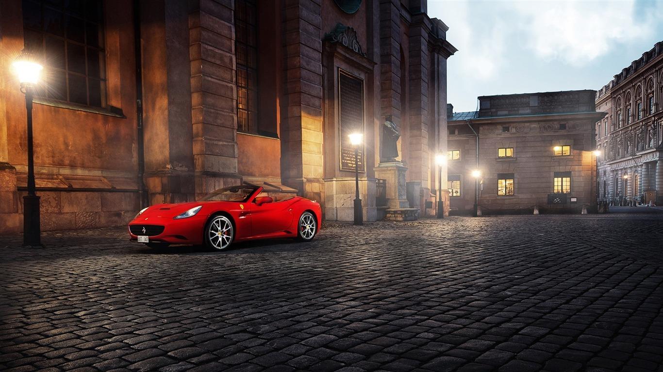 Rouge Ferrari California Voitures Hd Fond D Ecran Apercu 10wallpaper Com