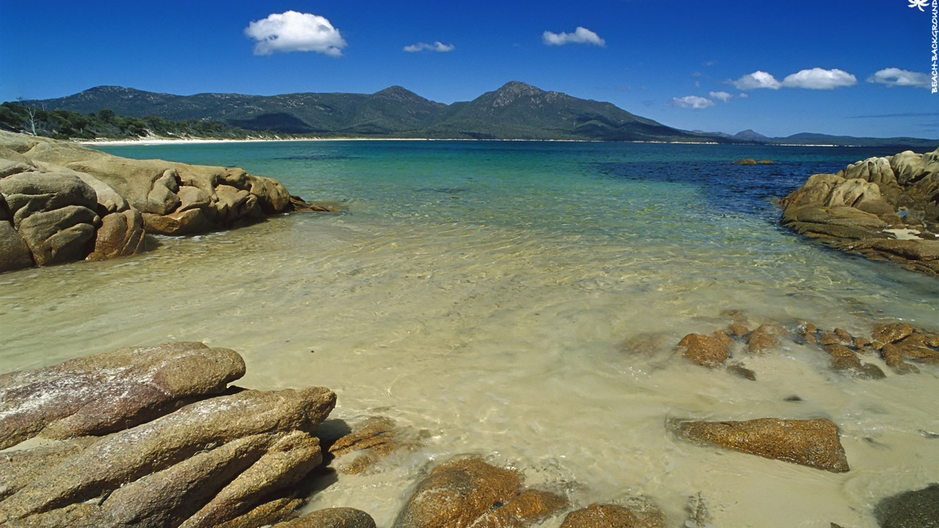 Tasmania Beach Australia Nature Hd Wallpaper Preview
