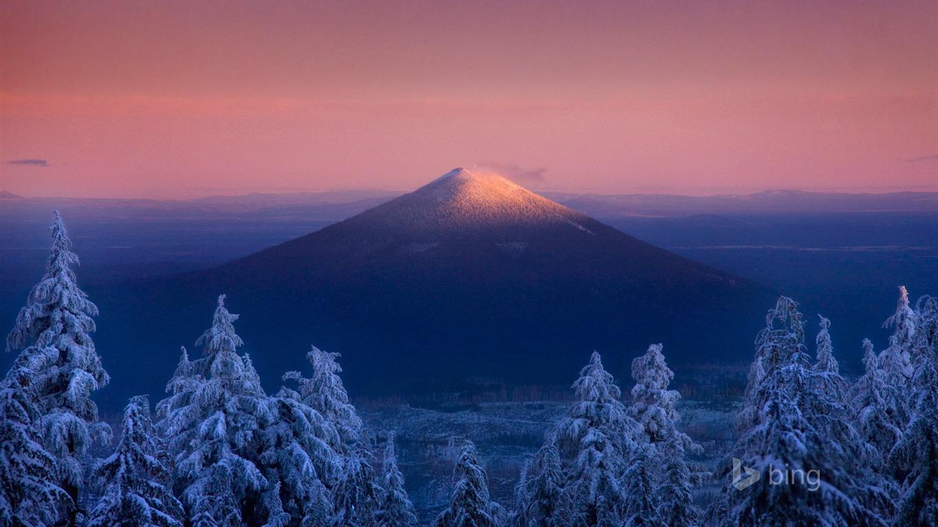 Fondo De Pantalla De Invierno Monte Fuji Bing Tema Avance
