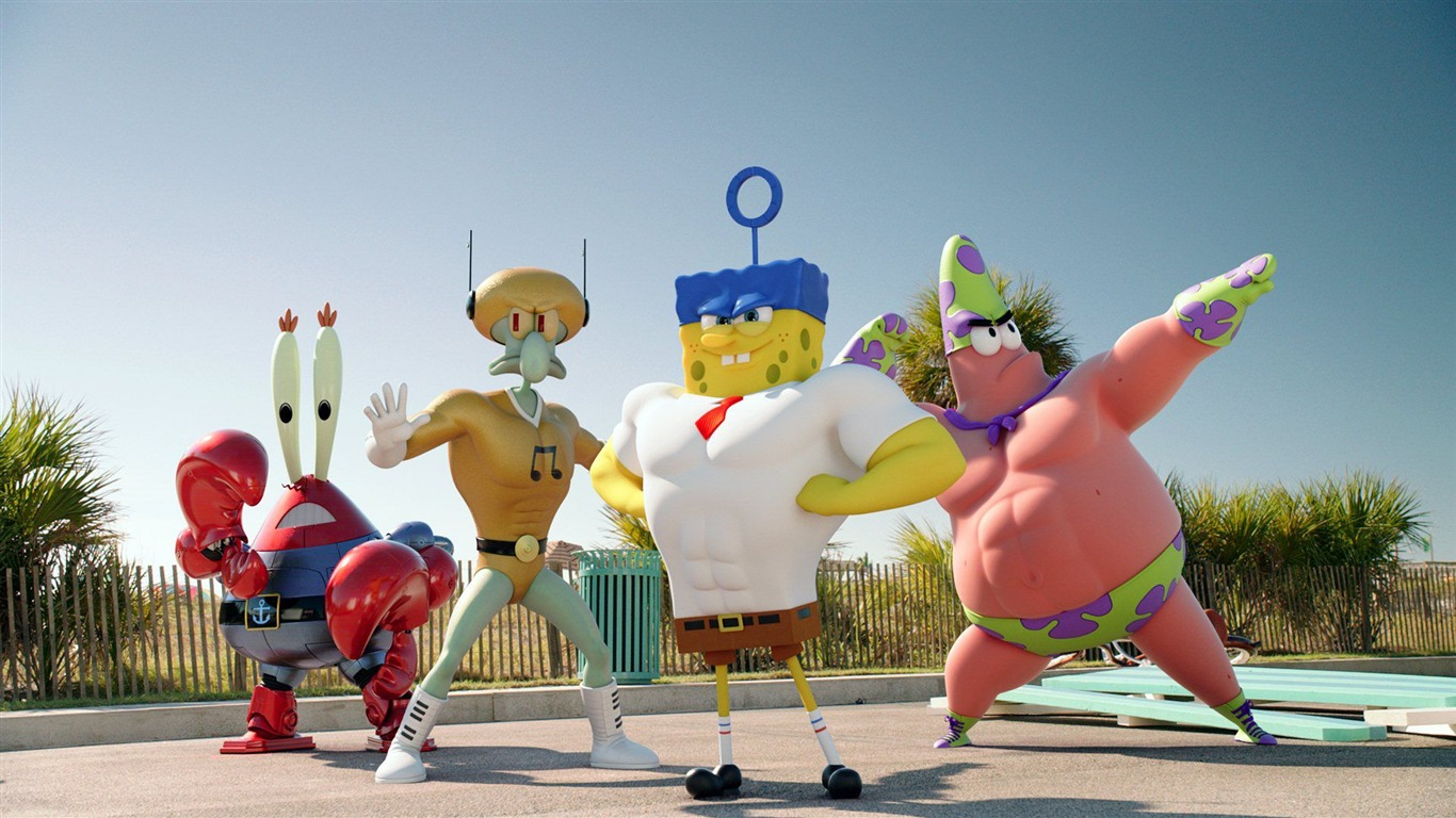 The Spongebob Movie Sponge Out Of Water Hd Wallpaper 01 Preview