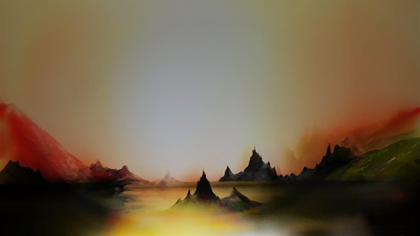 Surreal Landscape Design Hd Wallpaper Preview 10wallpapercom