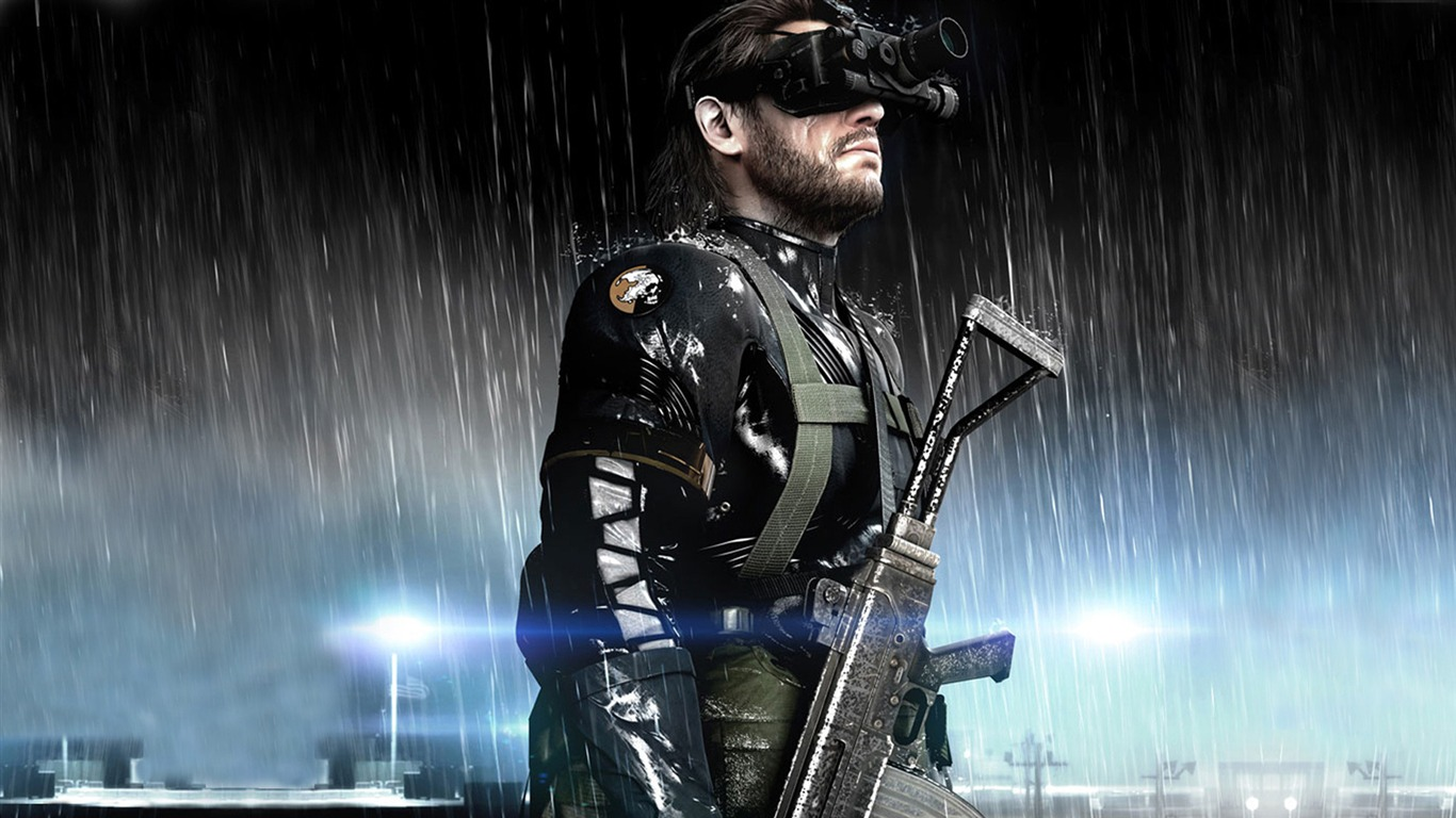 Metal Gear Solid V The Phantom Pain Game Hd Wallpaper 03 Preview
