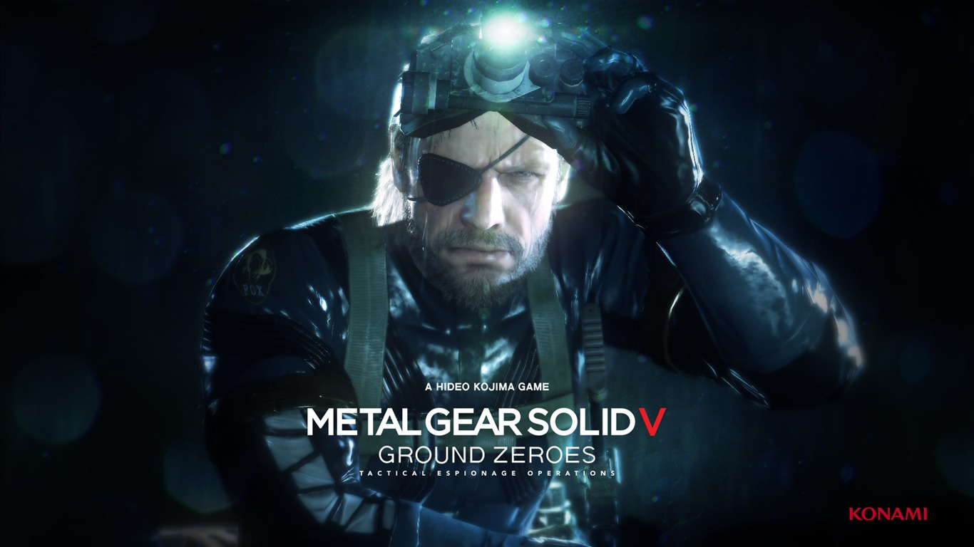 Metal Gear Solid V The Phantom Pain Game Hd Wallpaper Preview